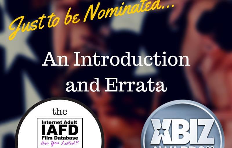 XBiz Awards Nominations 2015: An Introduction and Errata
