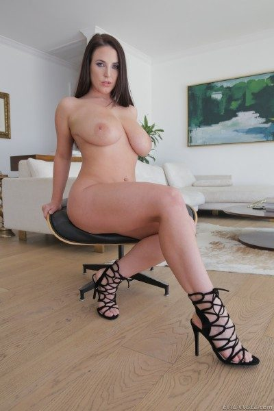 Angela White in Evil Angel's 'Raw 28'
