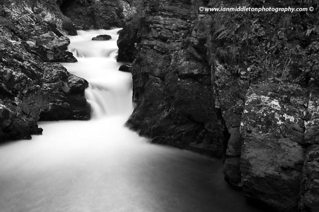 Vintgar Gorge in Slovenia