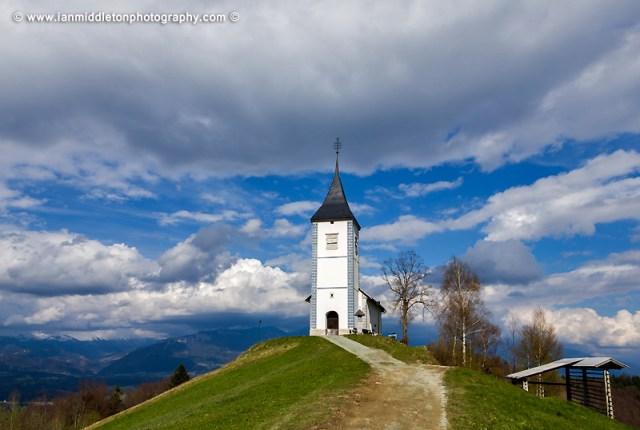 Jamnik church in Slovenia