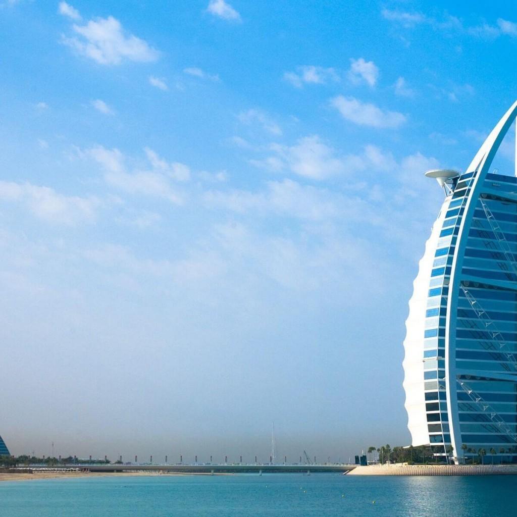 O impressionante Burj Al Arab, um dos ícones de Dubai