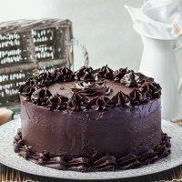 DEVIL'S FOOD CAKE. Receta Americana
