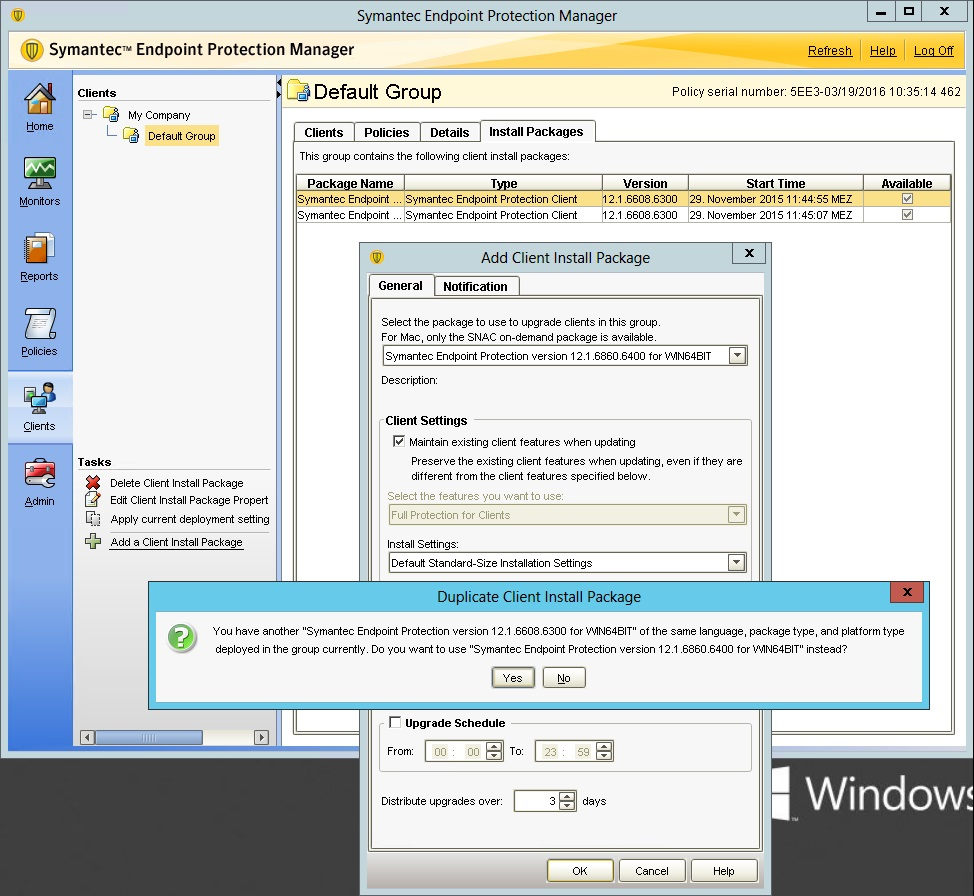 Symantec Endpoint Protection Manager Version