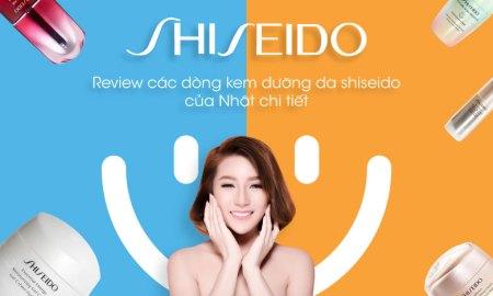 kem dưỡng da Shiseido