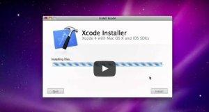 iPhone開發工具Xcode 4安裝教學