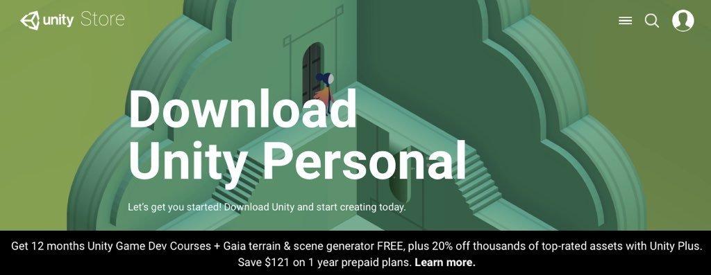 AR/VR製作教學- 開發工具Unity安裝篇