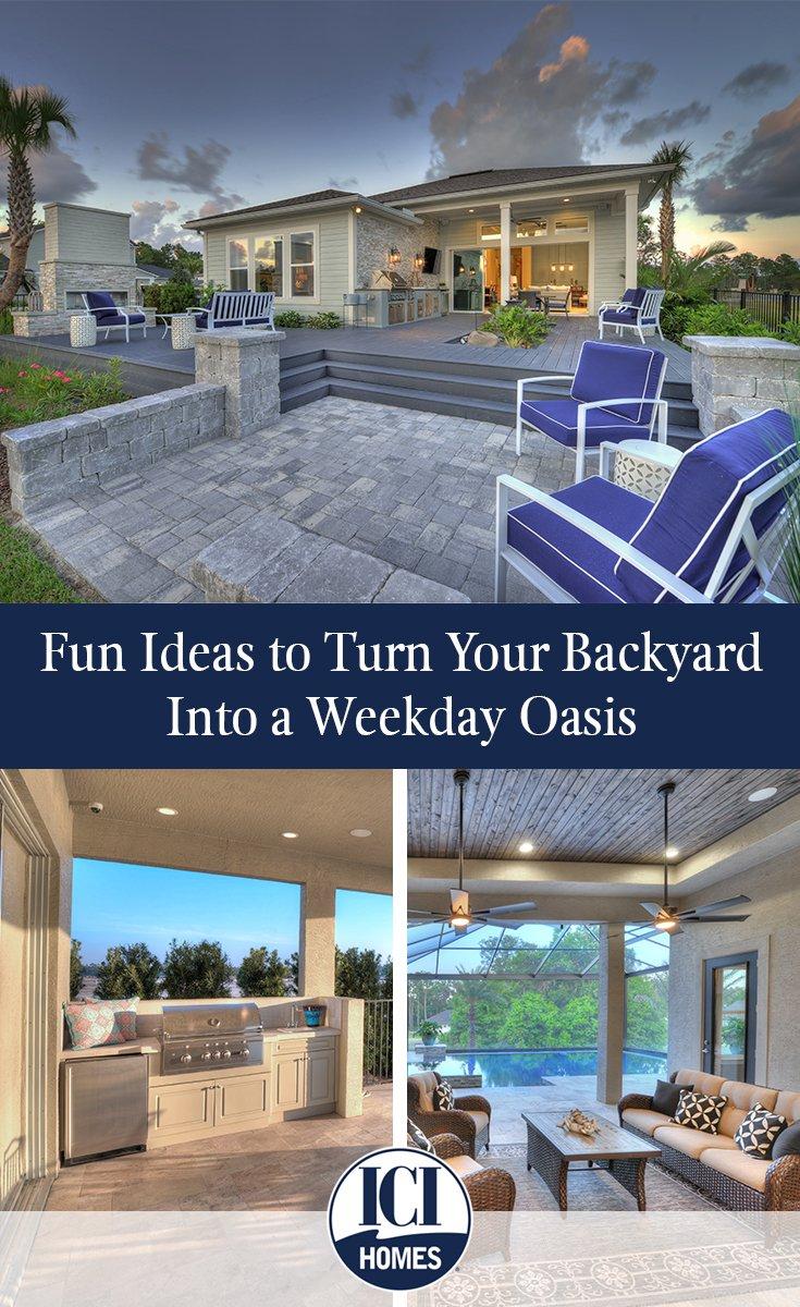 fun ideas to turn your backyard into a