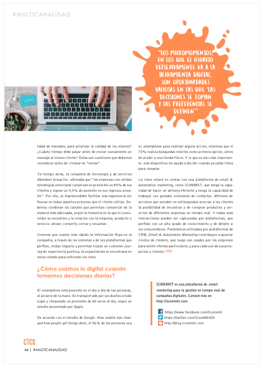 ICOMMKT Revista Contact Cneters 3