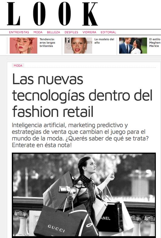 Revista Look - Entrevista a ICOMMKT