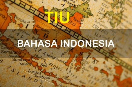 TIU Bahasa Indonesia