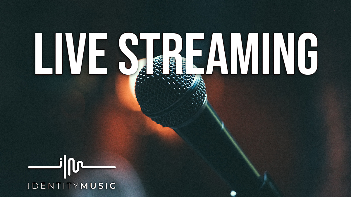 You can't concert? You can… Live Stream!