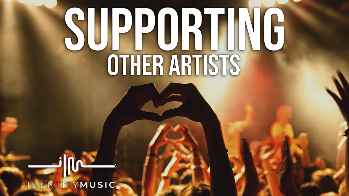 Supporting other music artists… For free!
