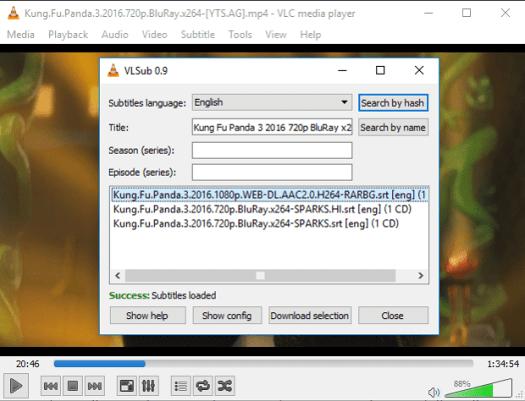 vlsub download option
