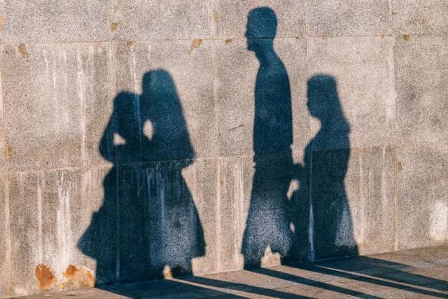 el aprendizaje de los hijos, imitación de los padres