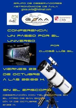 cartel astronomia