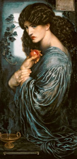 Proserpina, Rossetti, 1871