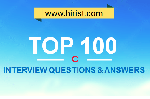 Top 100 C Interview Questions