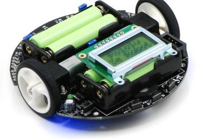 Pololu 3pi robot kullanımı