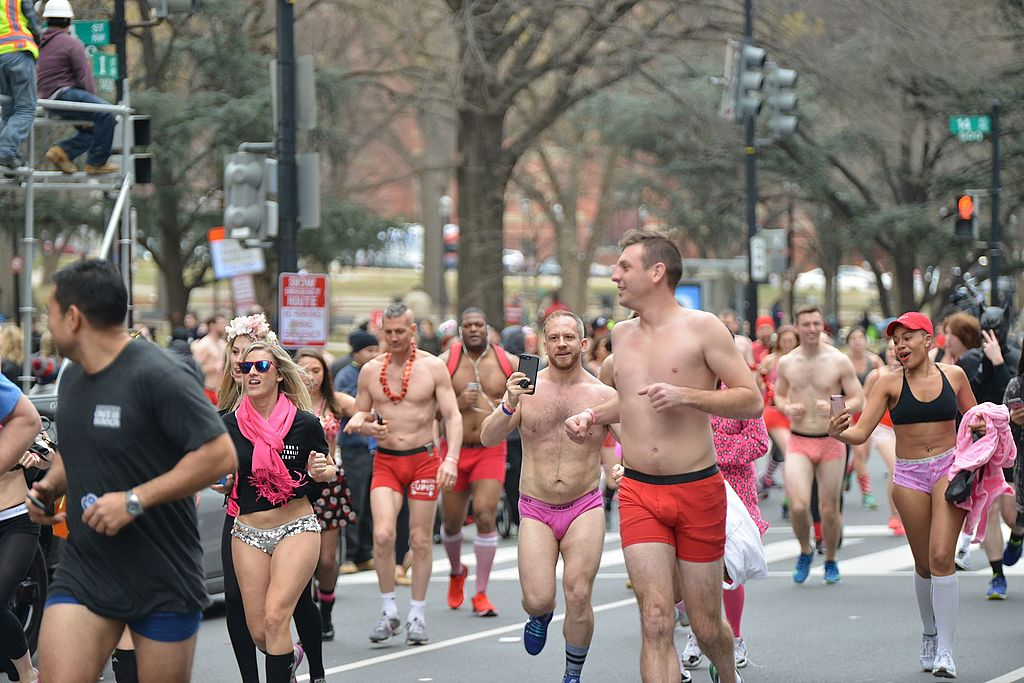The Cupid's Undie Run – A Cure for Winter Blues