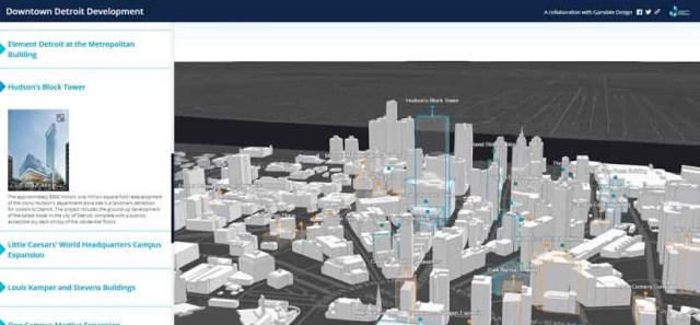 novo desenvolvimento urbano com mapas 3D - imagem 1