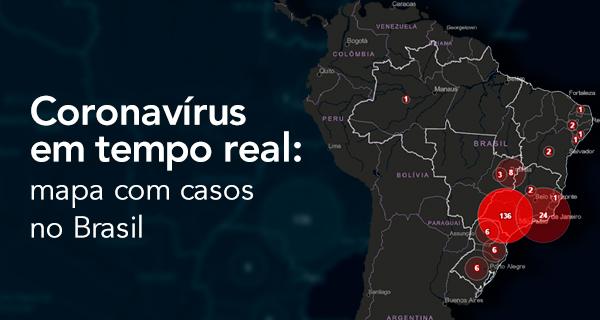 Coronavirus Em Tempo Real Mapa Com Casos No Brasil Portal Geo