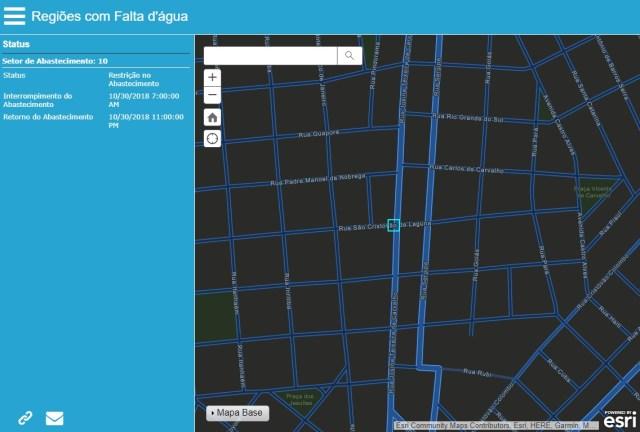 Empresas de Saneamento usam o GIS em resposta à crise do COVID-19 - imagem 4