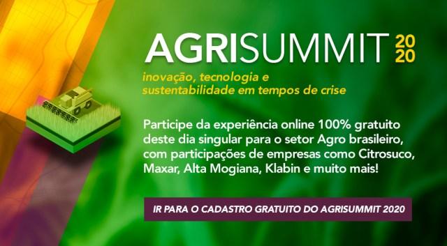 AgriSummit 2020: sustentabilidade e inovação