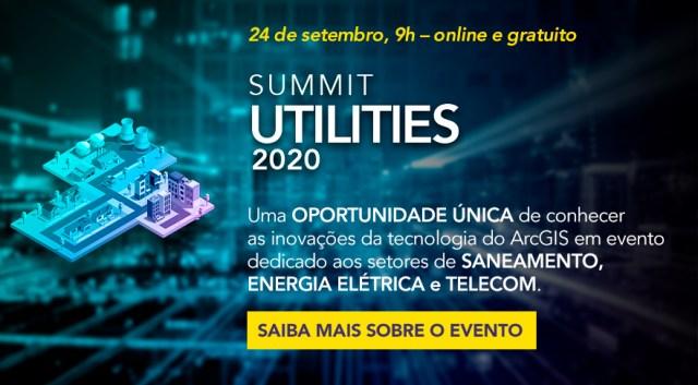 Utilities Summit 2020 - inscrições gratuitas