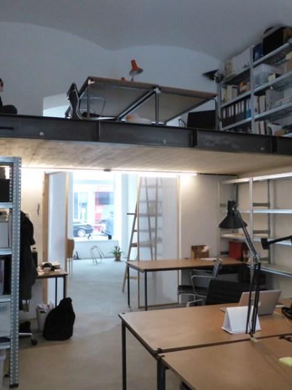 Atelierplatz / Arbeitsplatz im T/abor in der Taborstraße (2. Bezirk)