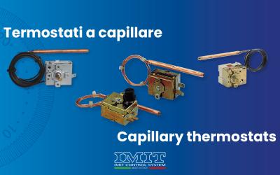 Termostati a capillare: termoregolatori e limitatori di sicurezza