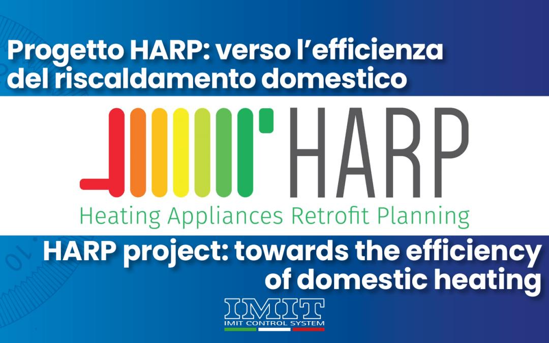 Progetto HARP: verso l'efficienza del riscaldamento domestico