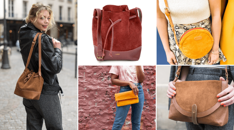 comment nettoyer sac daim collection sac suede inaden