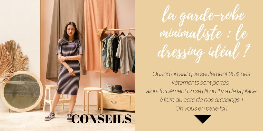 La garde robe minimaliste : quels avantages ?