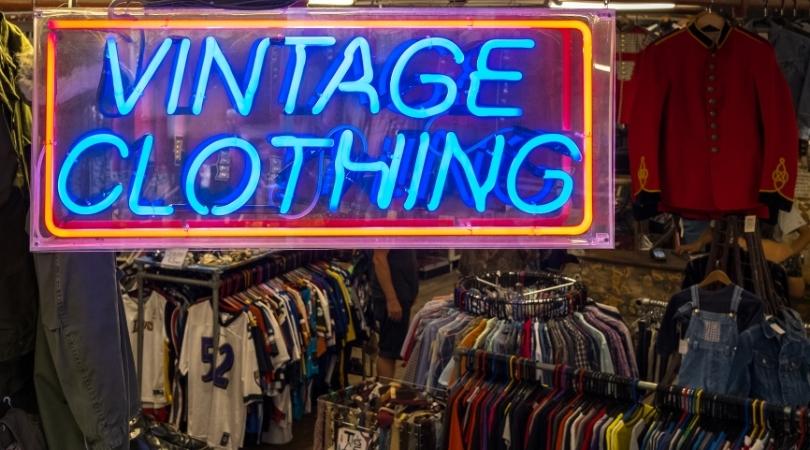 boutique vintage pour shopping seconde main