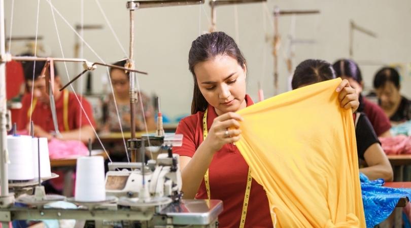 Fabrication d'un vêtement éthique