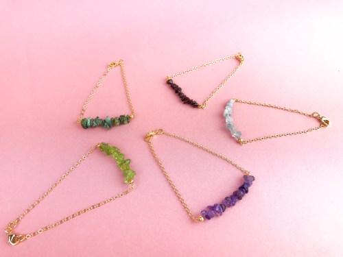 bijoux bohèmes chics pierres naturelles