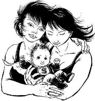 Lesbian parenting