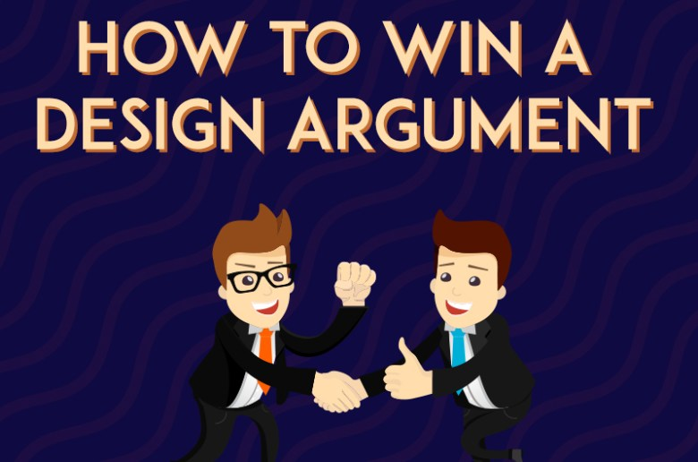 Convinving Clients How to Win A Design Argument IndieFolio blog cover image