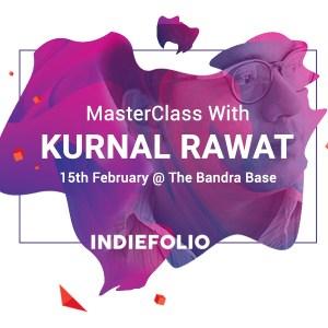 Event of IndieFolio with Kurnal Rawat Creative Director of Landor Design Agency Mumbai