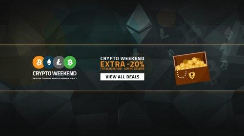 Crypto Weekend Sale