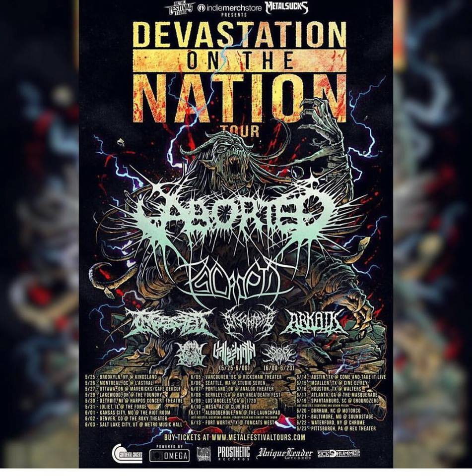 Devastation On The Nation Tour Announced!