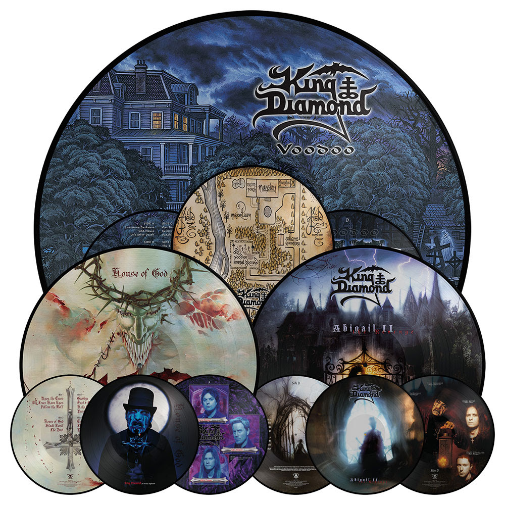 King Diamond vinyl re-releases available!