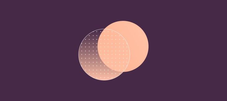 immagine iconica del raporto tra scuola e intelligenza artificiale, due cerchi che si intersecano