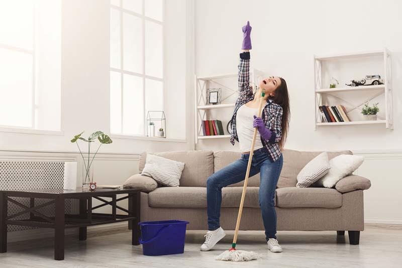 Lebih Mudah Bersih-Bersih