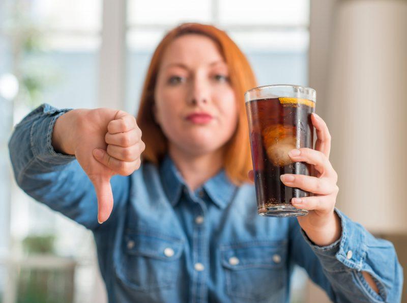 Hindari Soda atau Jus