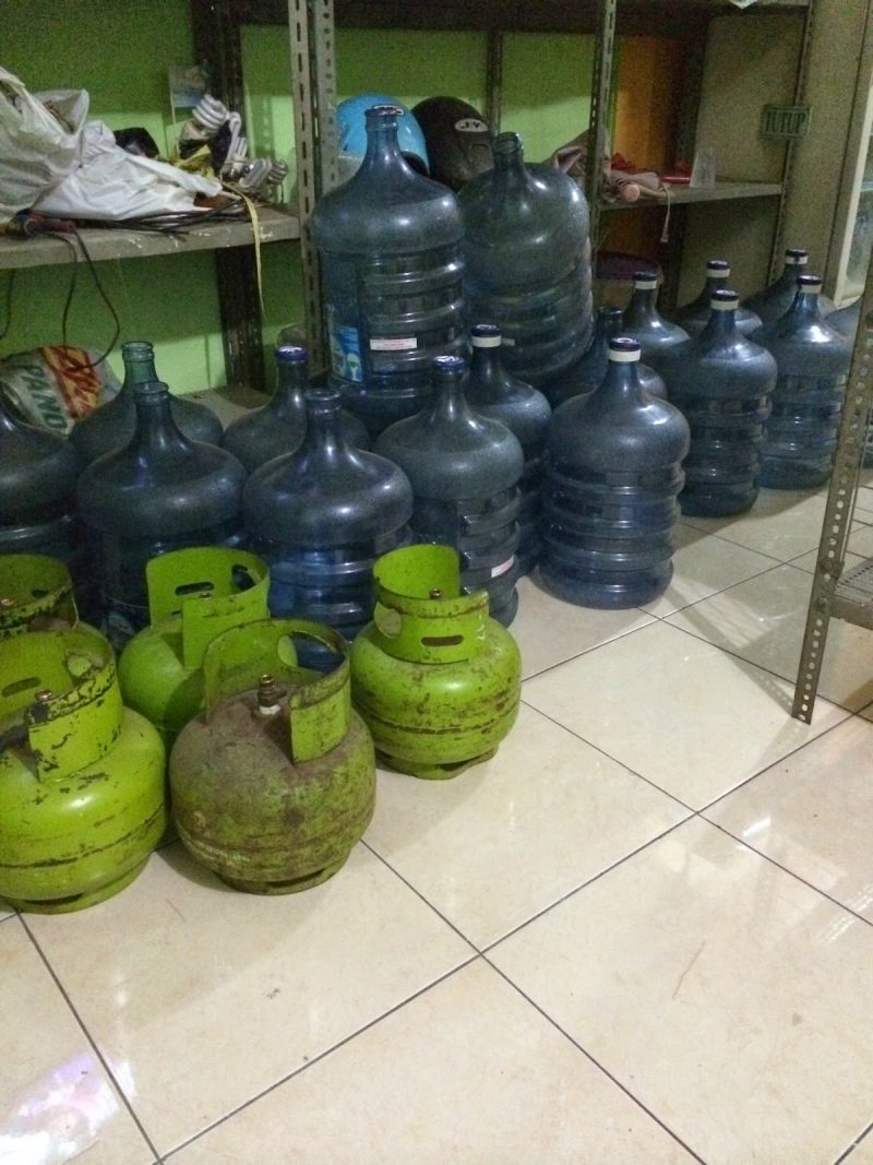 Jual Galon Air Mineral dan Gas