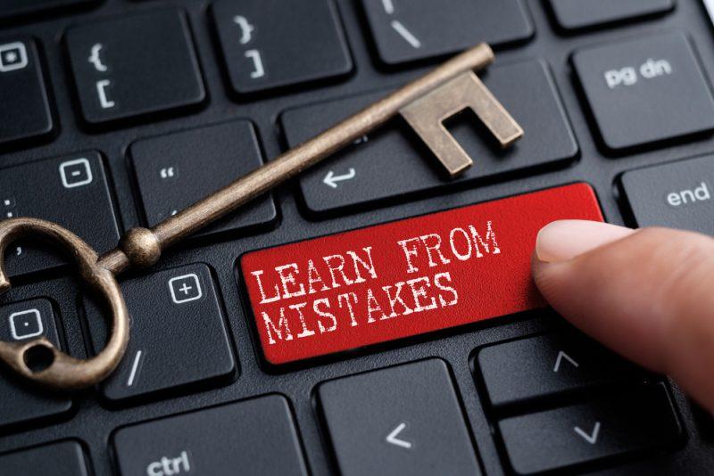Belajarlah dari Kesalahan