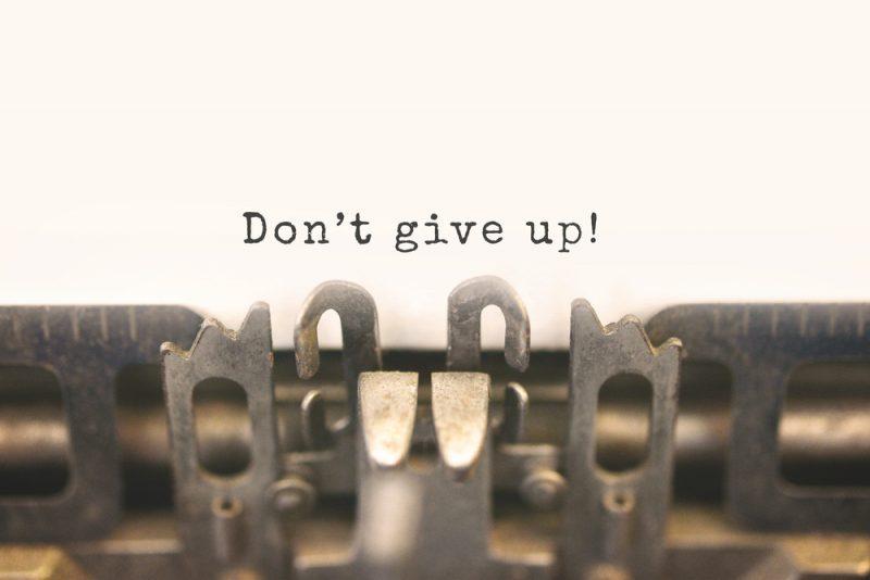 Jangan Mudah Menyerah