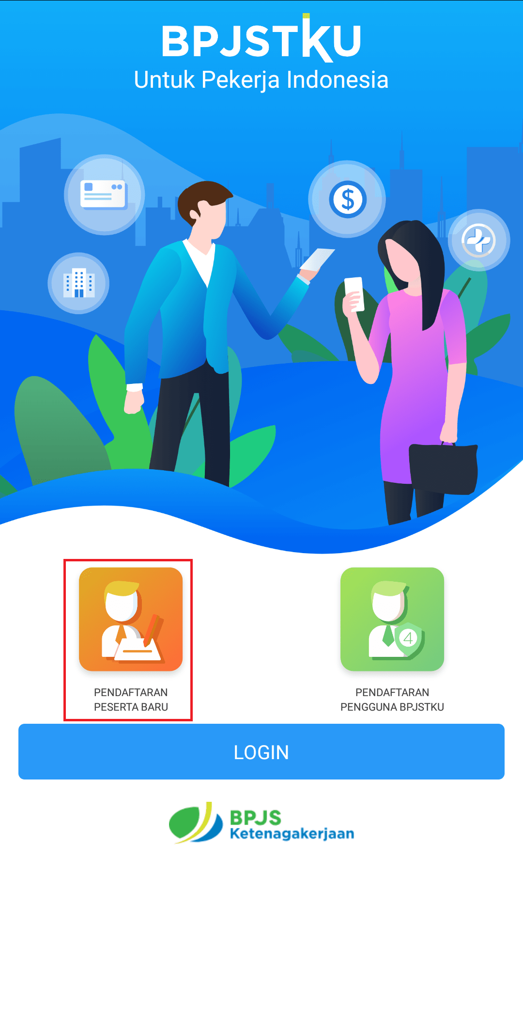 Daftar BPJS Ketenagakerjaan (Aplikasi)