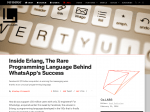 Inside Erlang - Blog article from Fast Company Labs